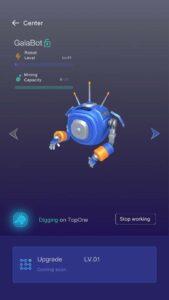 Crypto Galaxt Default Mining Robot