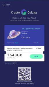 Crypto Galaxy Code