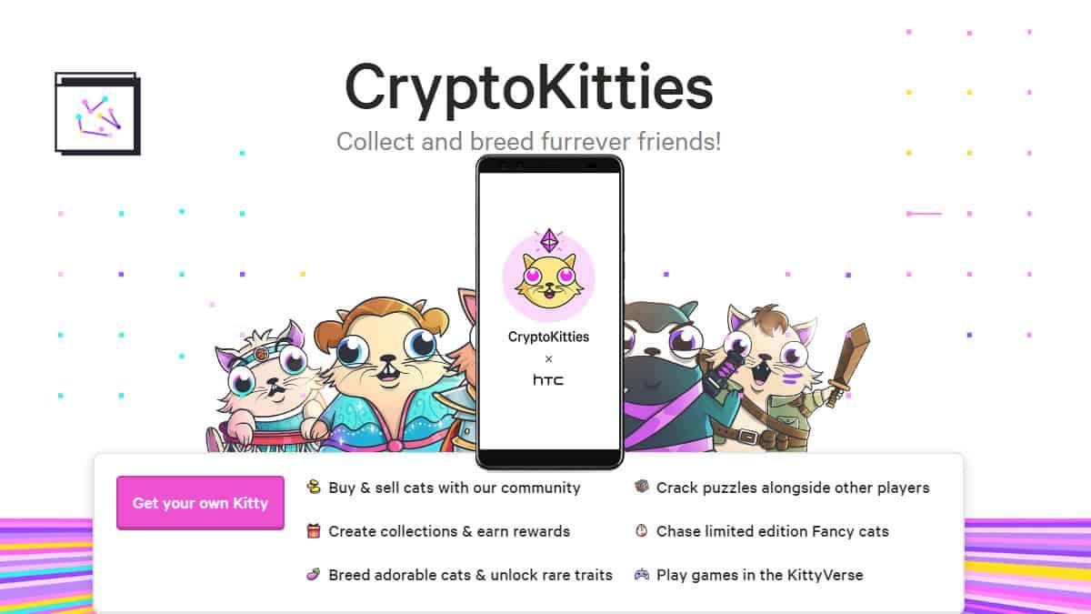 HTC Announces Cryptokitties for U12+ High End Smartphone