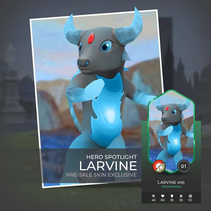 Larvine war of crypto