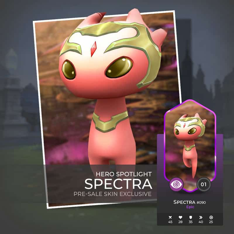 Royal Spectra, This monster comes with an exclusive presale-skin