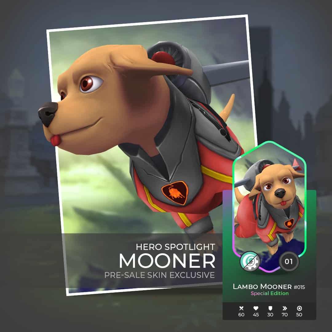 Lambo Mooner - Exclusive Pre-Sale Hero with unique Skin