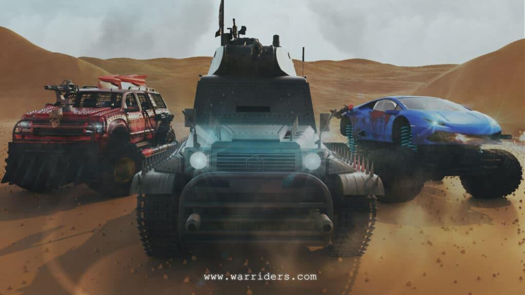 WAR RIDERS CARS CRYPTO