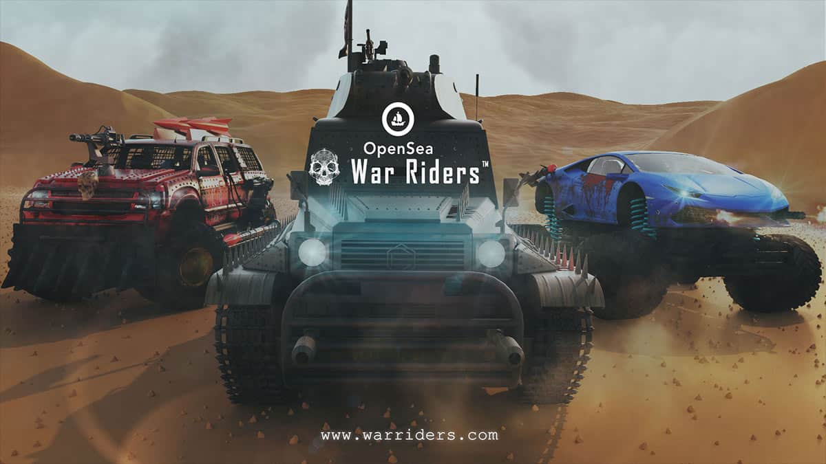 War Riders Partners with OpenSea