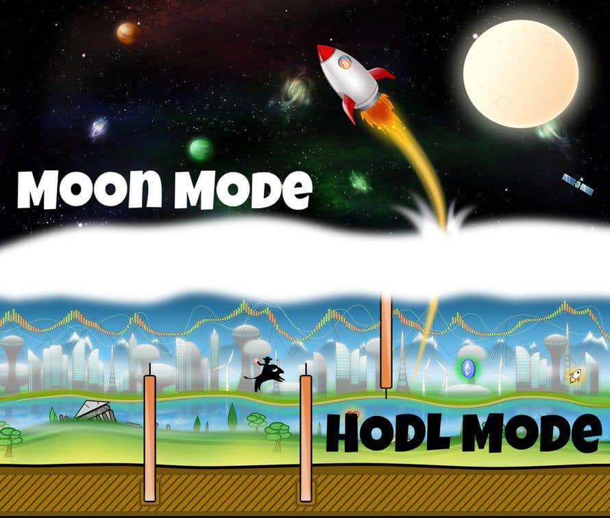 Bitcoin Hodler Blockchain Game