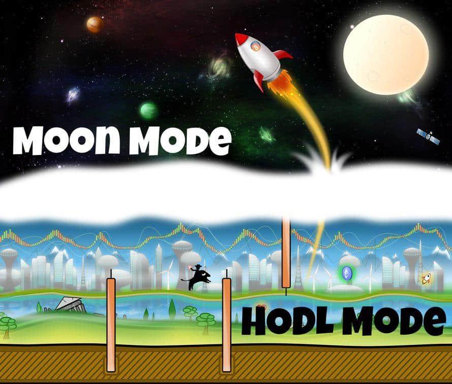 Bitcoin Hodler Blockchain Game