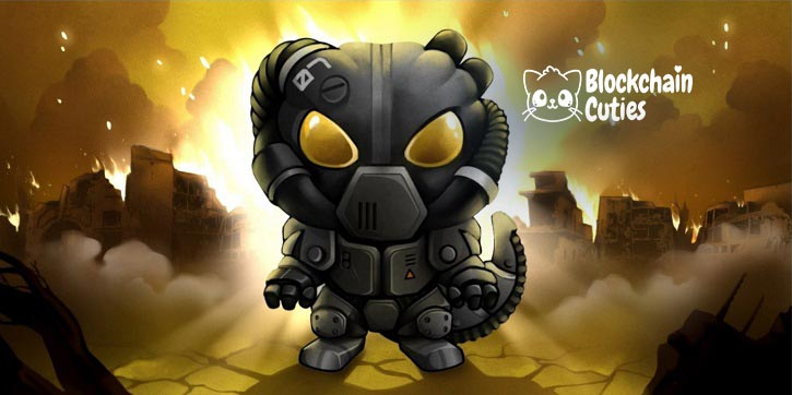 Blockchain Cuties The game