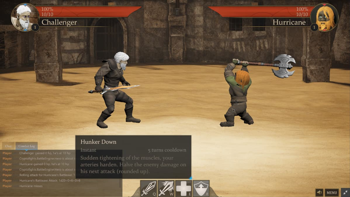 CryptoFights Game Preview