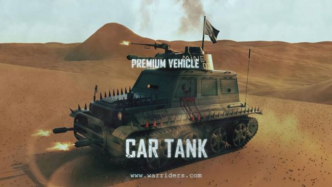 Egamers War Riders Car Tank