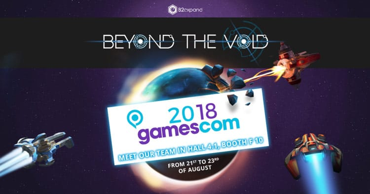 B2Expand will announce the release date of its competitive and hybrid strategy game, Beyond the Void, at Gamescom (August 21-25, 2018).