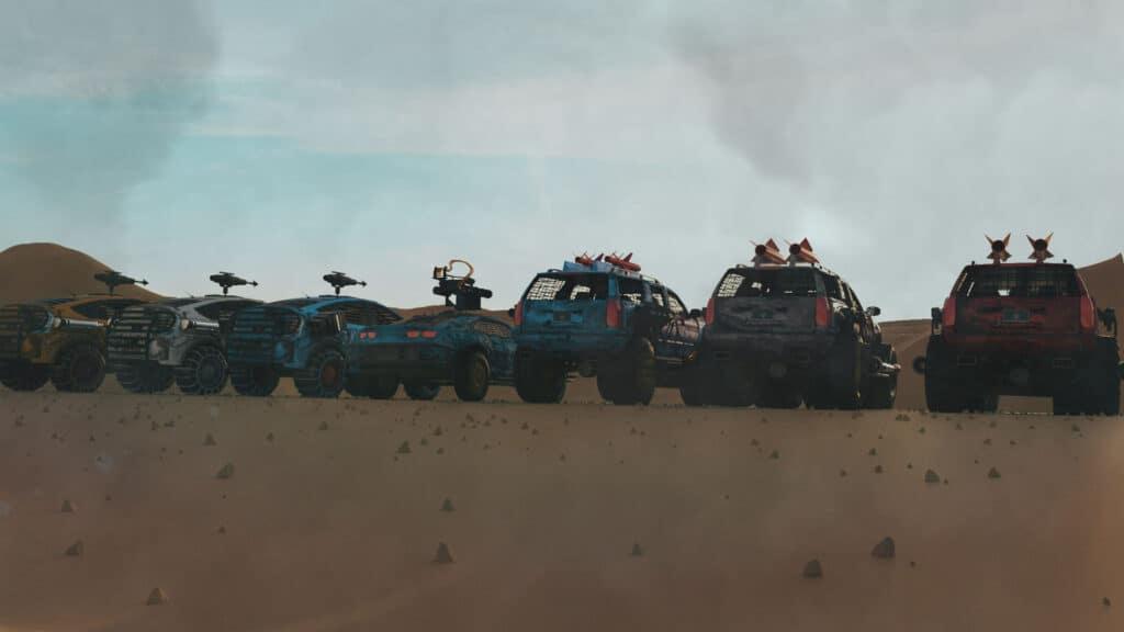 war riders cars