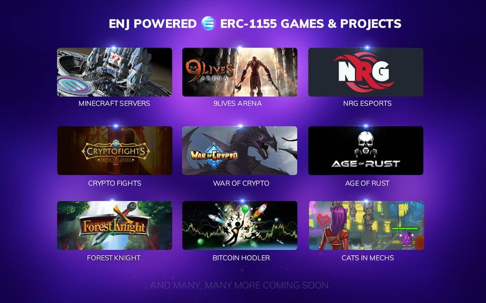 Enjin Multiverse Games