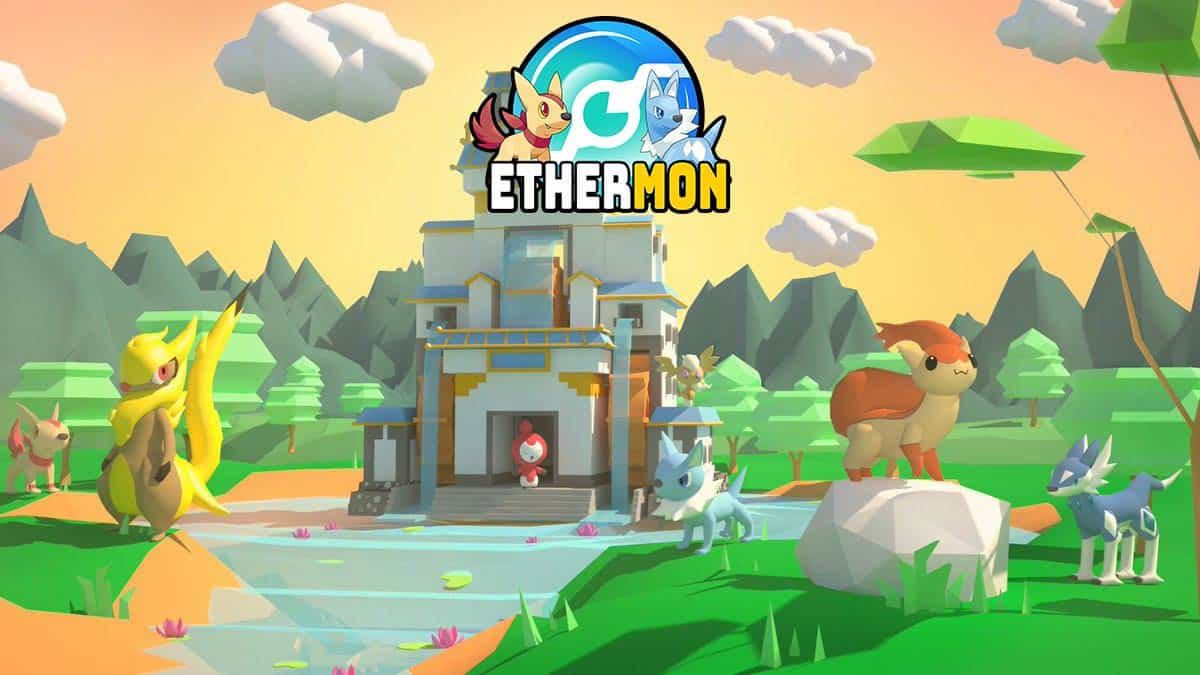 Adventure Mode in Ethermon collectible game