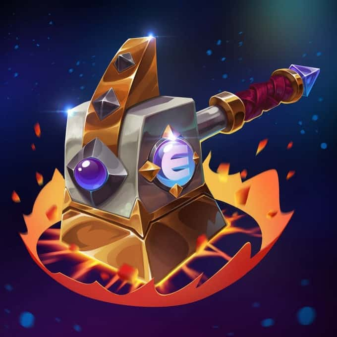 The Multiverse Forge Hammer is limited to 600 - 9Lives Arena will never distribute any more beyond that number