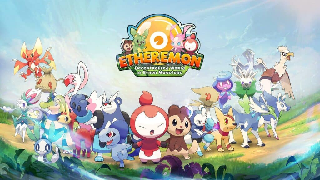 etheremon blockchain game