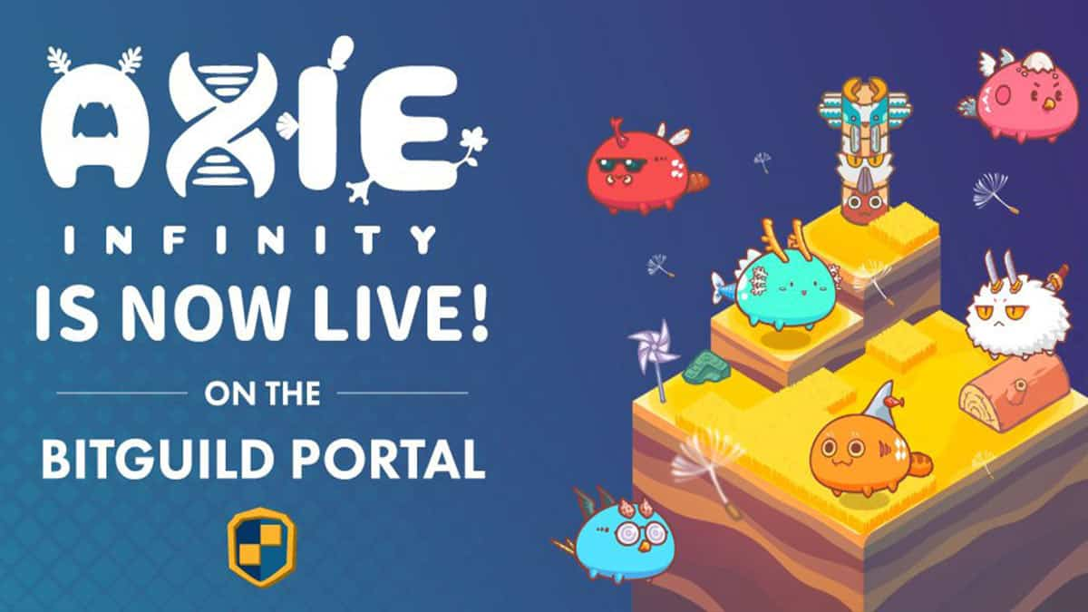 Axie Infinity Now Available On BitGuild