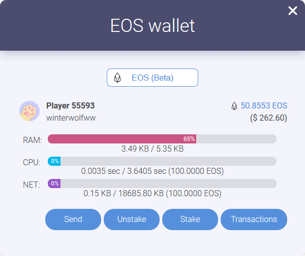 EOS BLOCKCHAIN CUTIES