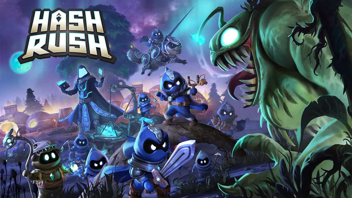 Hash Rush Blockchain Game Presentation by Egamers.io