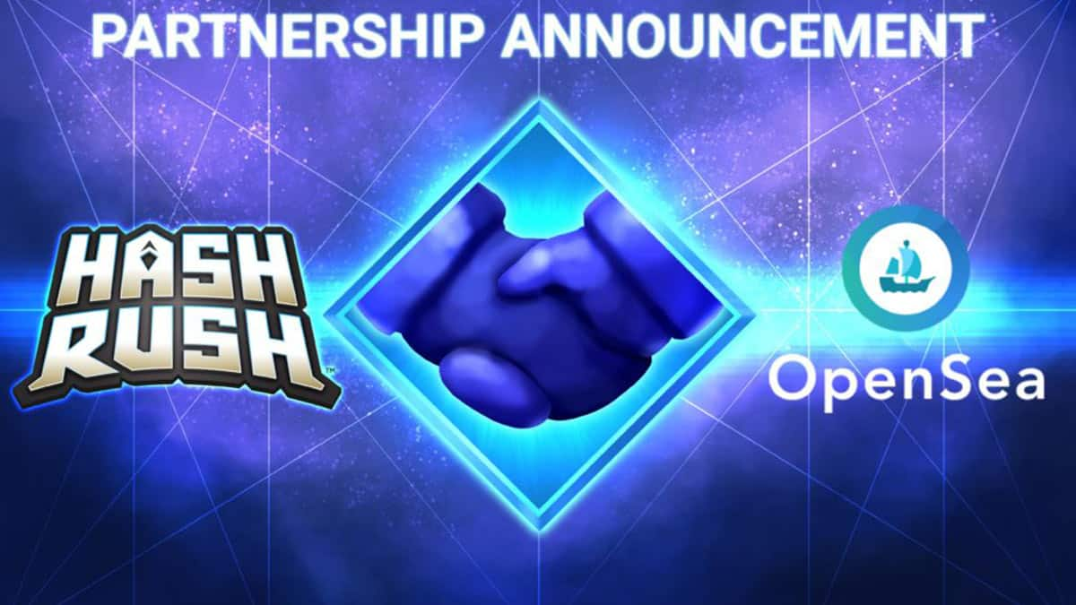 Hash Rush Partners With OpenSea