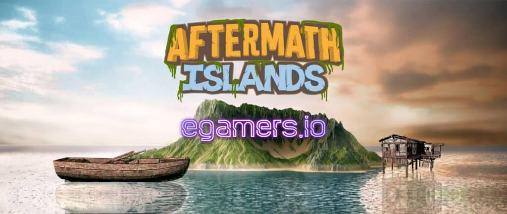 Aftermath Islands blockchain game on the TRON Network. An RPG game similar to tropico