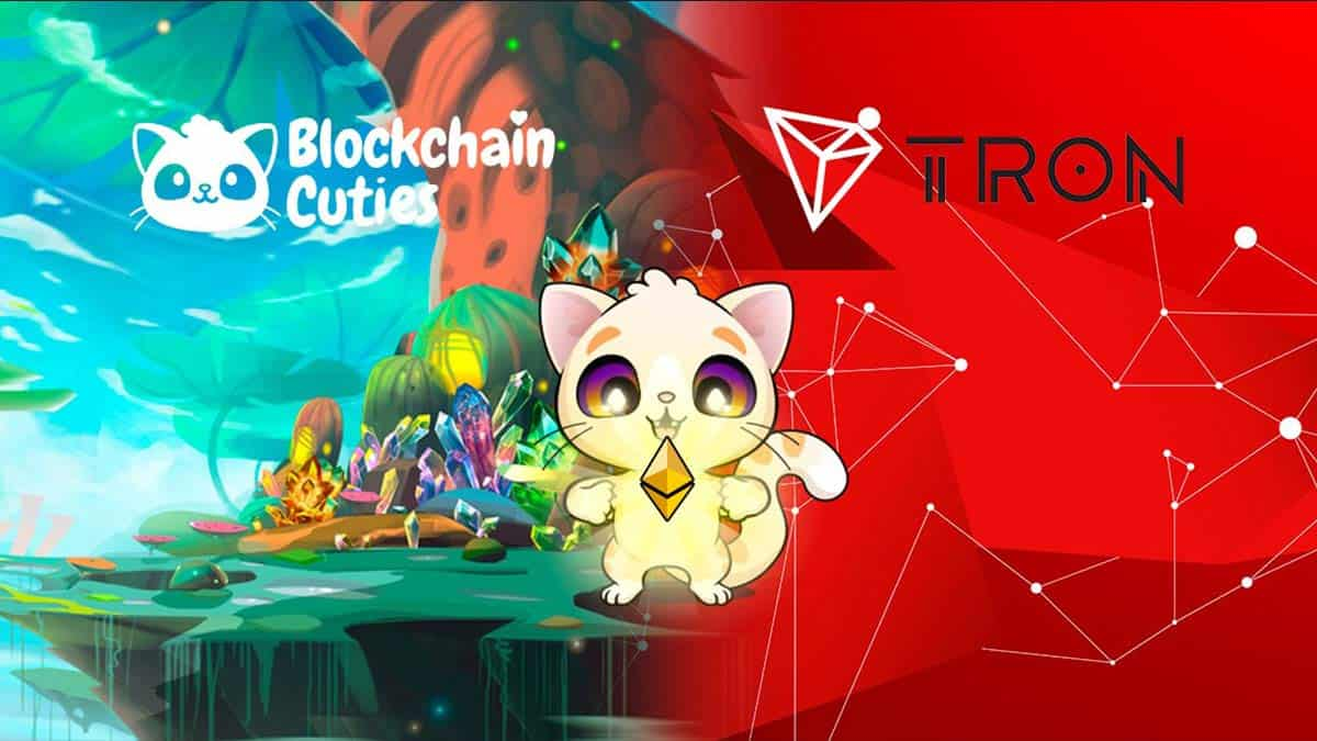 Blockchain Cuties Goes TRON