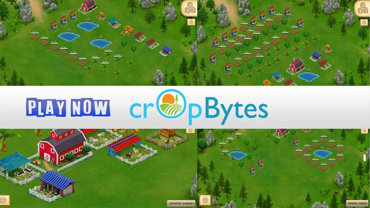 CropBytes Blockchain Game is now live