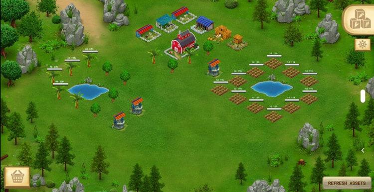 Cropbytes farm by OgreAboard