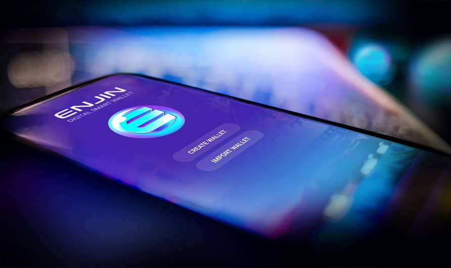 Enjin smart wallet is the wallet for multiverse games