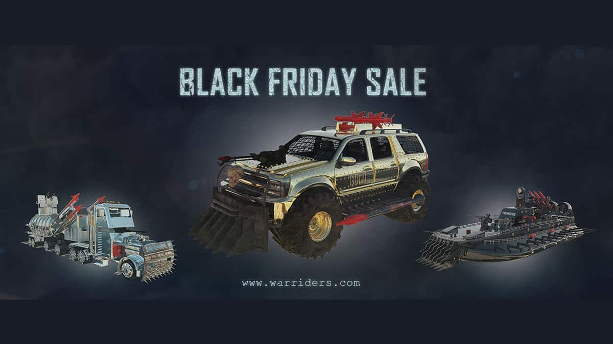 War Riders Black Friday Sale
