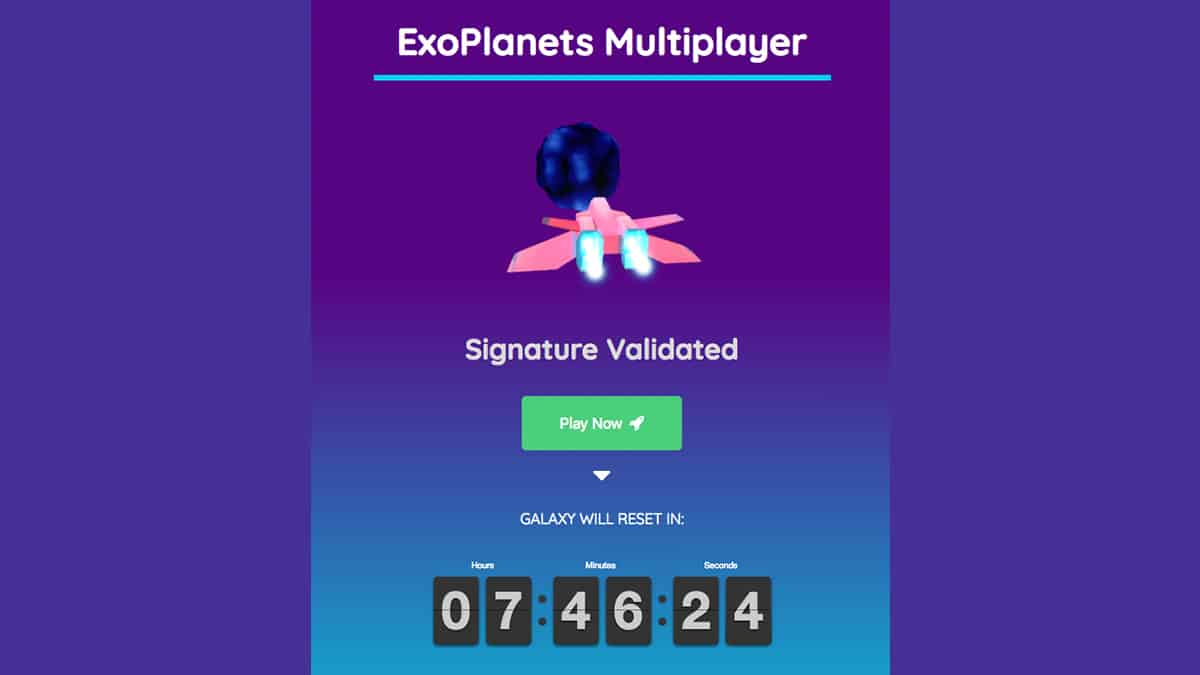 Exoplanets Beta Launch