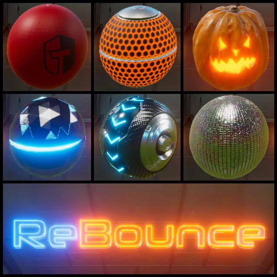 Rebounce first multiverse to play game