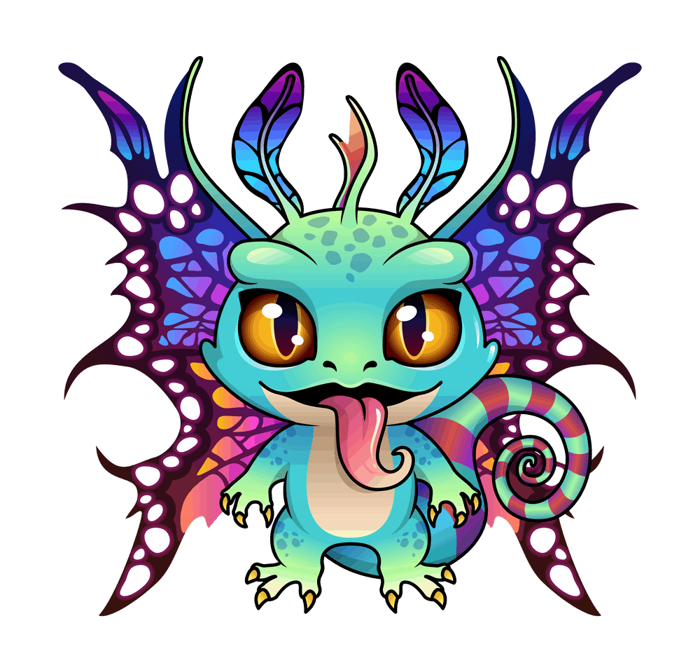 fairy dragon blockchain cuties