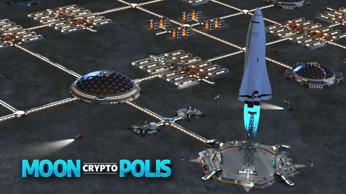 Blockchain Game MoonCryptoPolis