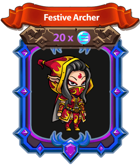 Forest Knight Festive Archer egamers