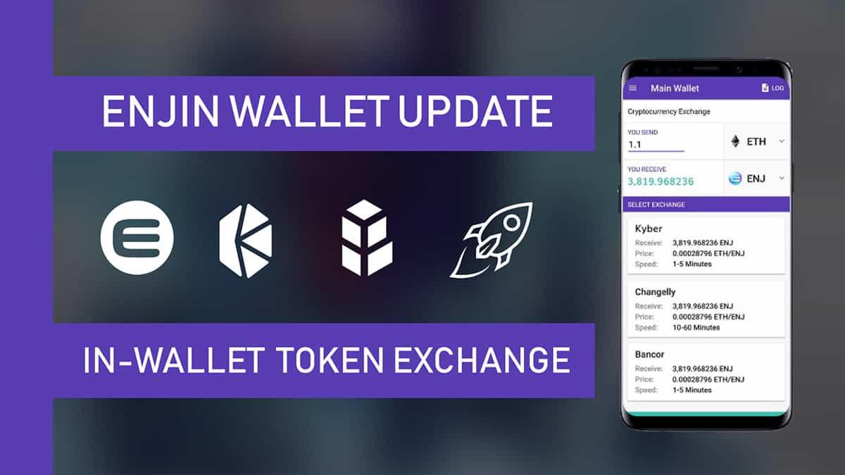 In-Wallet Token Swaps - Soon in Enjin Wallet