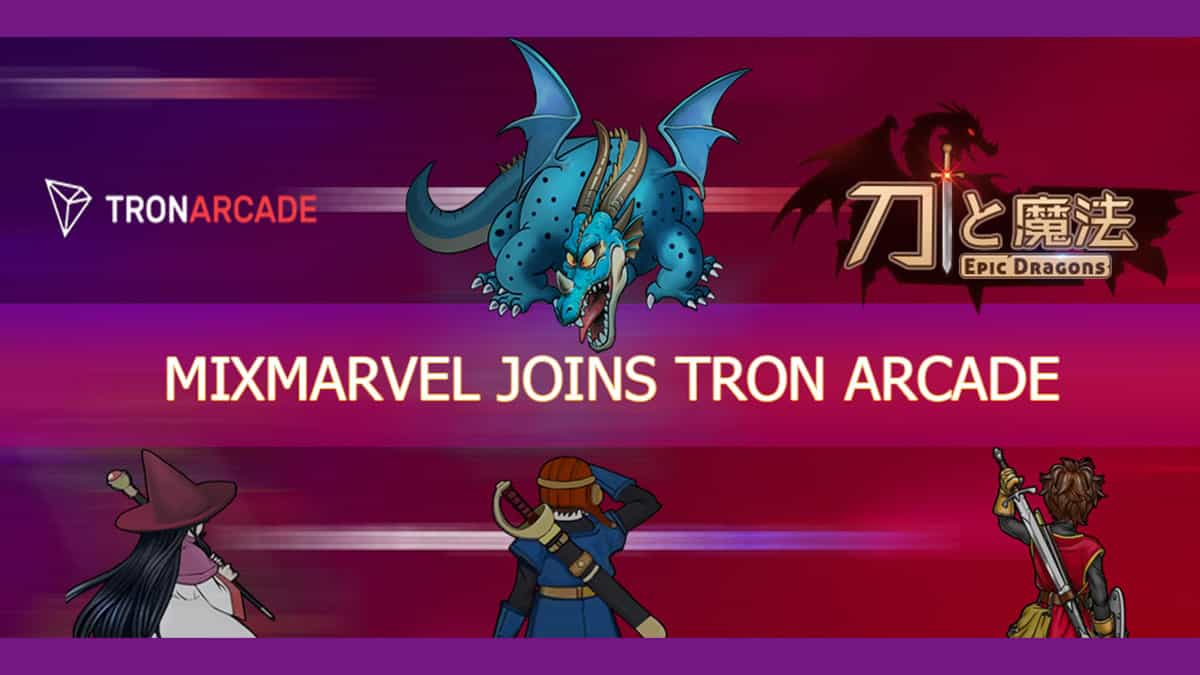 MIXMARVEL Releases Epic Dragons Joins TRON Arcade