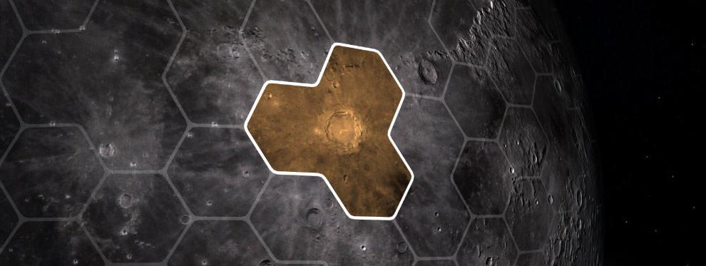 MoonCryptopolis district blockchain game