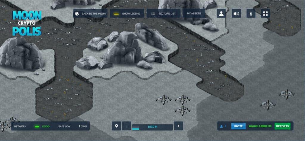 MoonCryptopolis gameplay egamersio crypto games