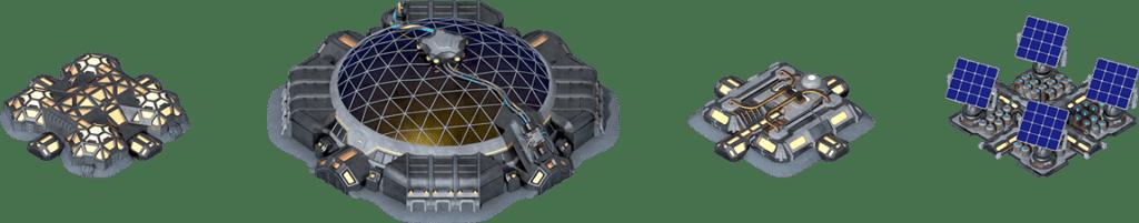 Mooncryptopolis buildings egamers