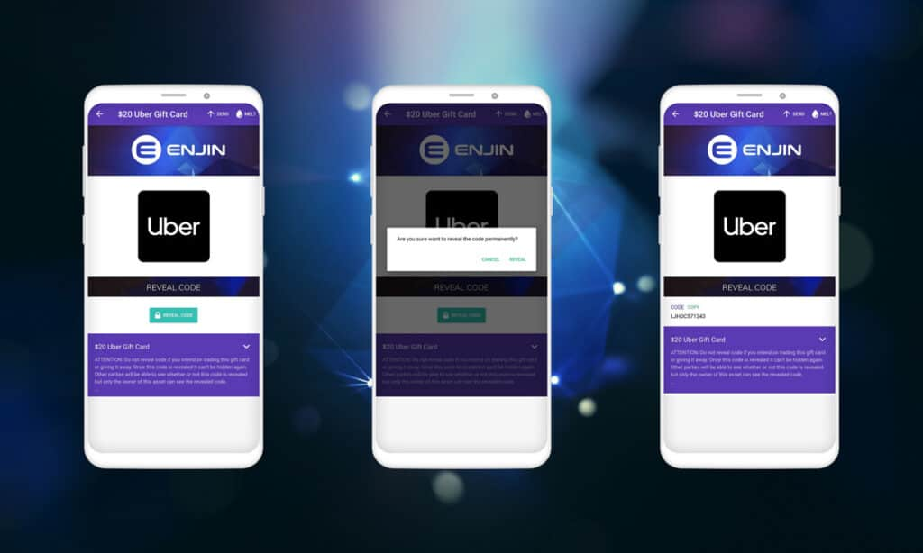 Enjin Wallet code reveal ethereum games blockchain gaming crypto gaming egamers optimized