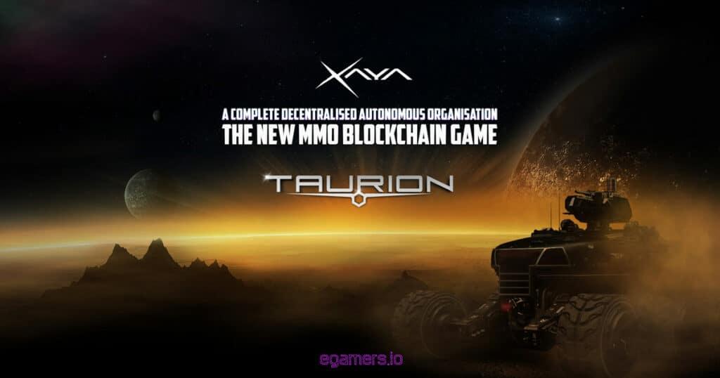 Taurion mmo crypto game xaya blockchain games egamersio