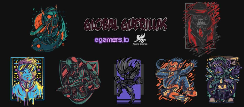 champions showcase global guerillas egamers enjin mvb gg crypto social sharing game