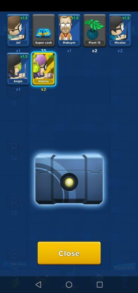 crypto idle miner chest unlock