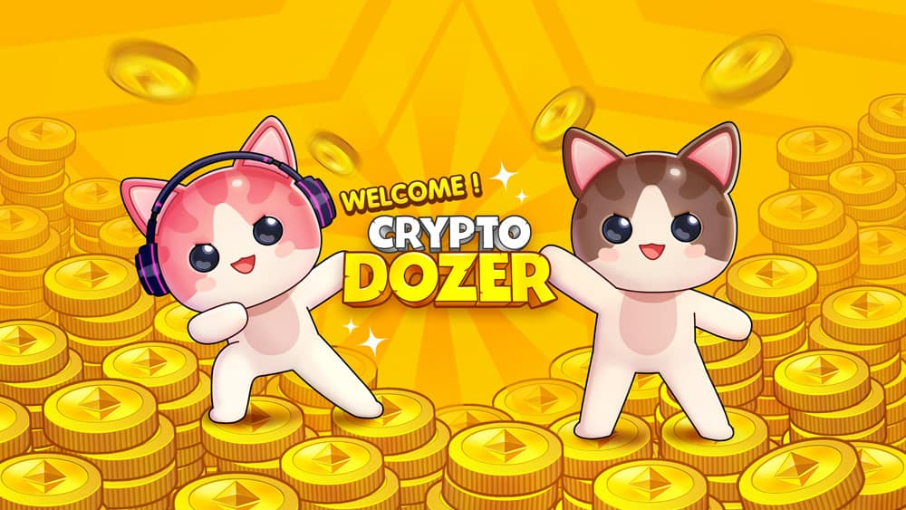 CryptoDozer – Coin Pusher on The Blockchain With ETH Rewards