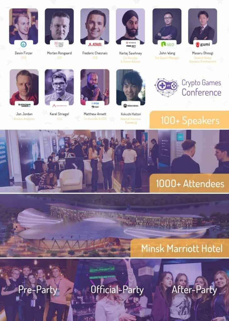 Crypto Games Conference CGC team