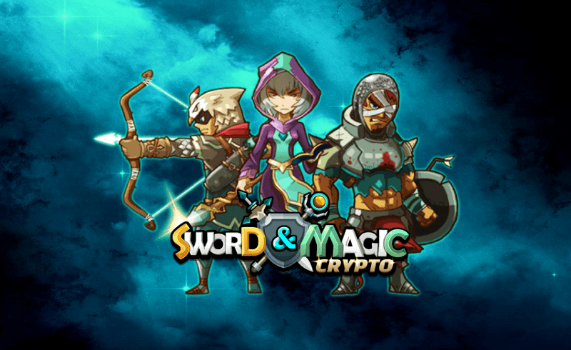 Crypto SwordandMagic EOS Blockchain Game CryptoGames