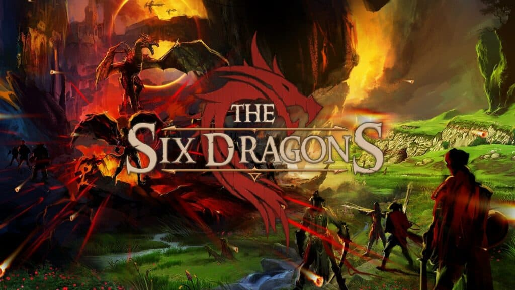 SixDragons Enjin Multiverse Blockchain Crypto Games