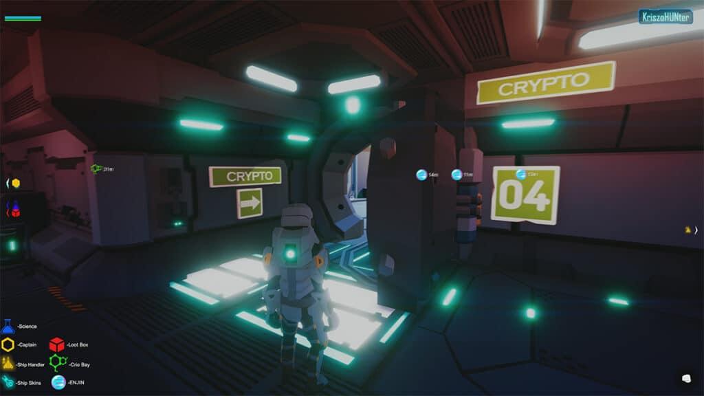 space misfits enjin game