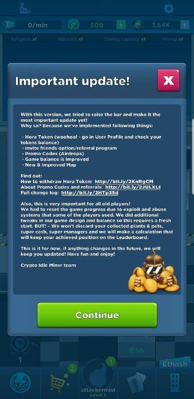 CIMiner update