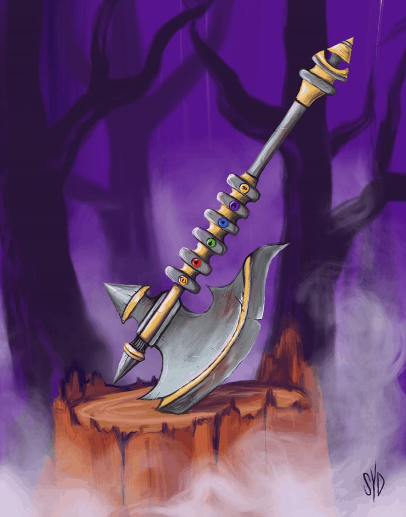 spiritclash axe